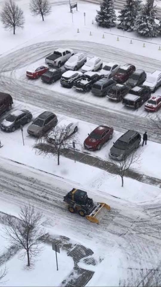 Valley Green and Associates Moorhead Minnesota Residential and Business parking lot snow plowing